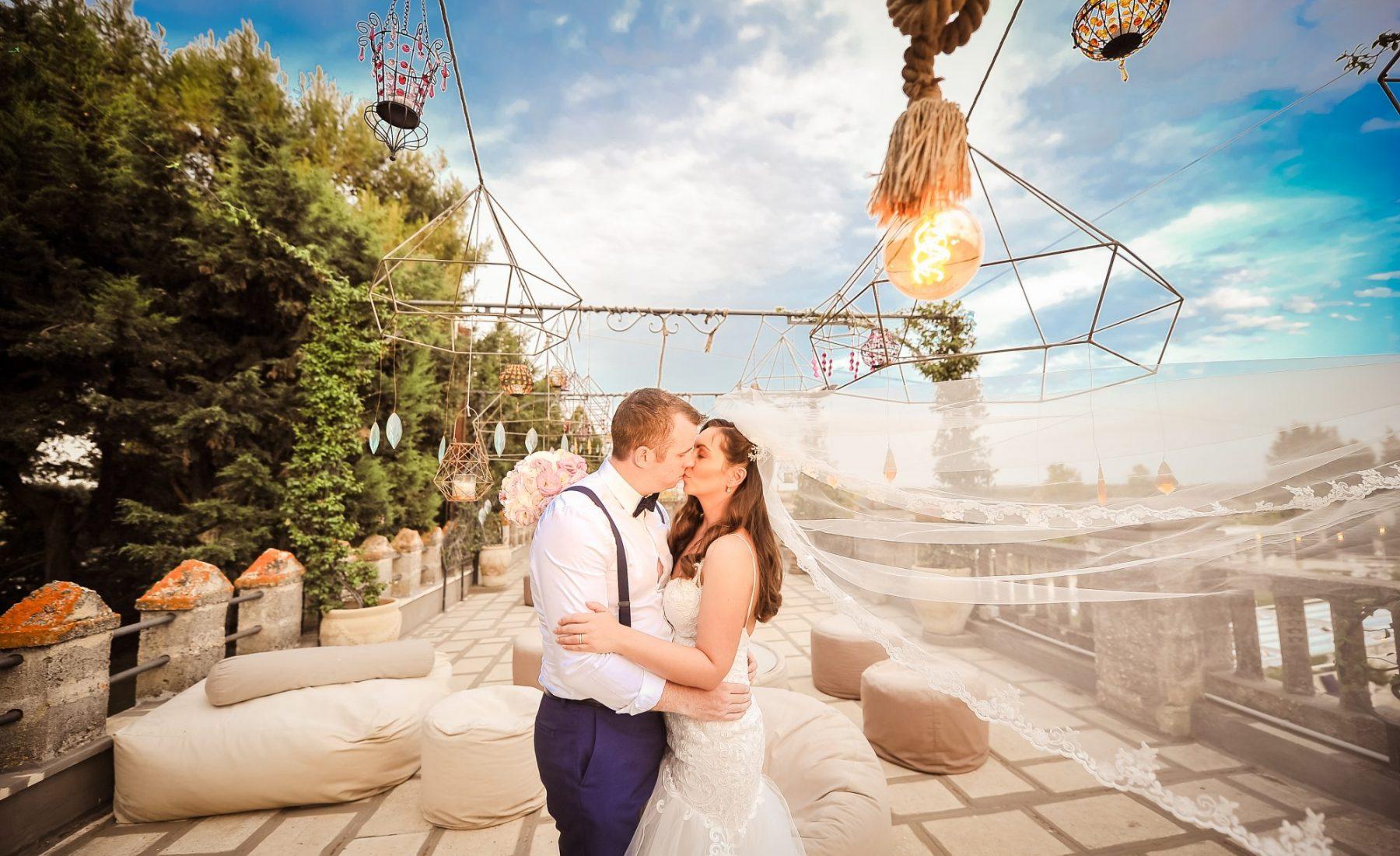 Wedding in a Castle in Puglia