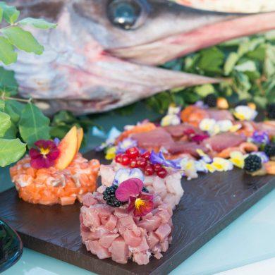 beach-wedding-food